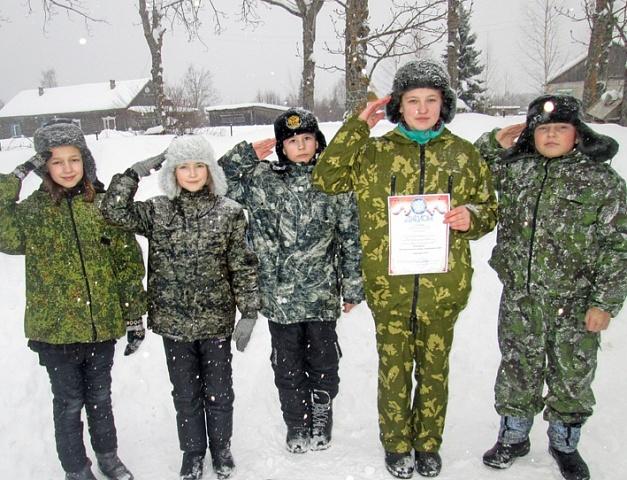 В Галичском районе Костромской области начались отборочные туры военно-спортивной игры «Зарница»