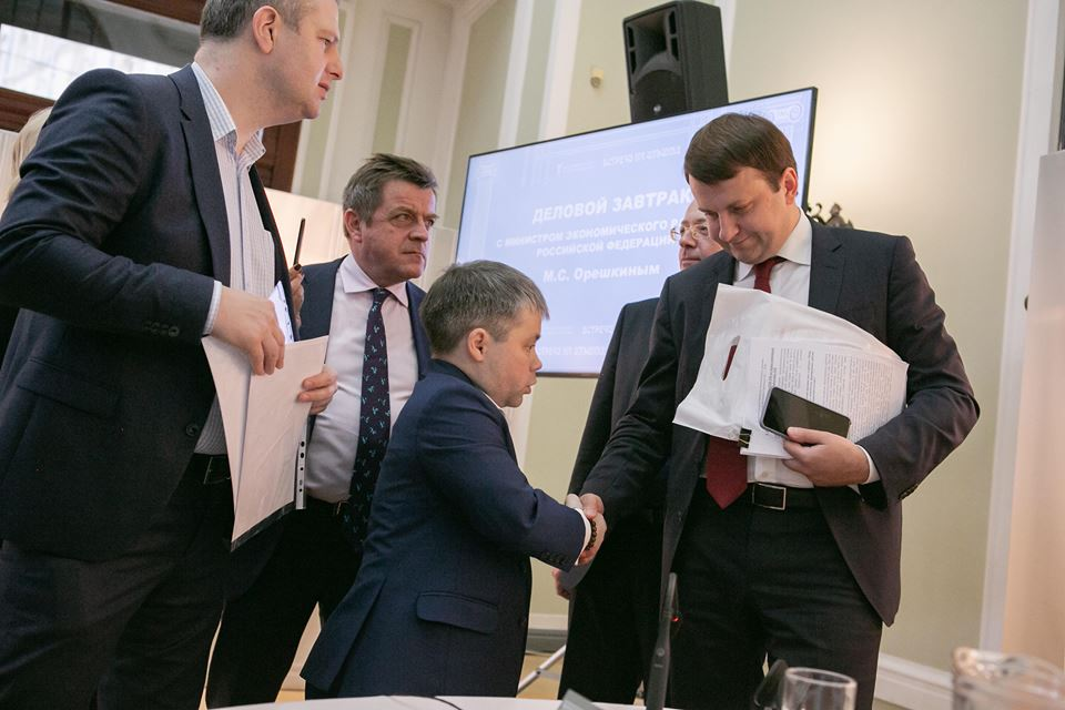Костромич Сергей Игнатьев предложил министру экономического развития оставить льготы для  IT-компаний
