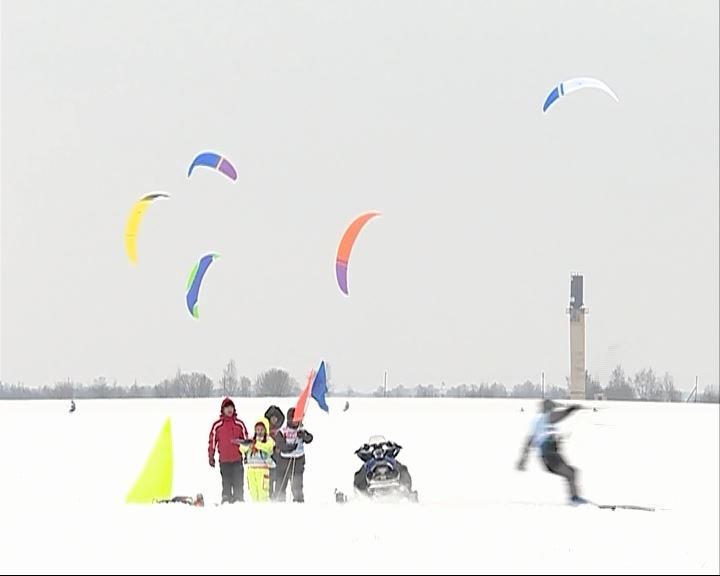 Сегодня в Костроме стартует открытый Чемпионат области по сноукайтингу