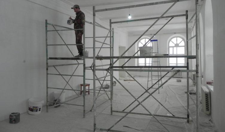 В Вохомском музее делают ремонт к 100-летнему юбилею