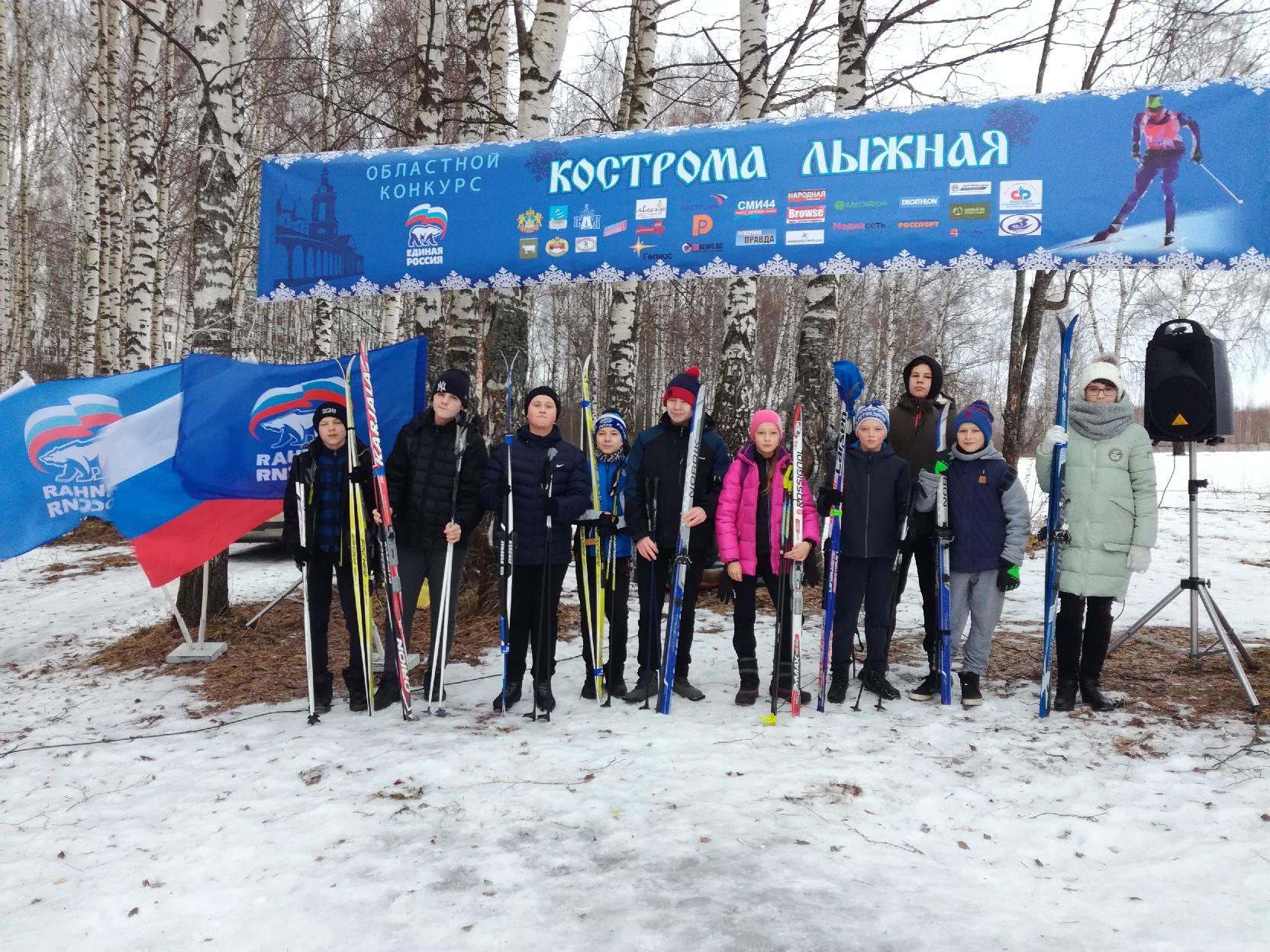 Сегодня  в эфир нашего телеканала выйдет четвёртый выпуск программы «Кострома лыжная»