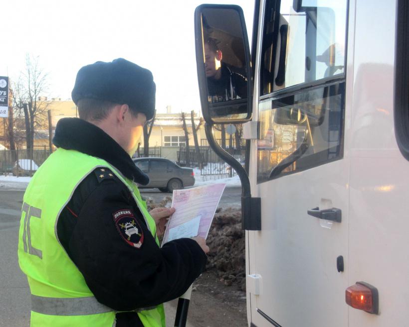 В Костроме на автобусные маршруты вновь вышли госавтоинспекторы