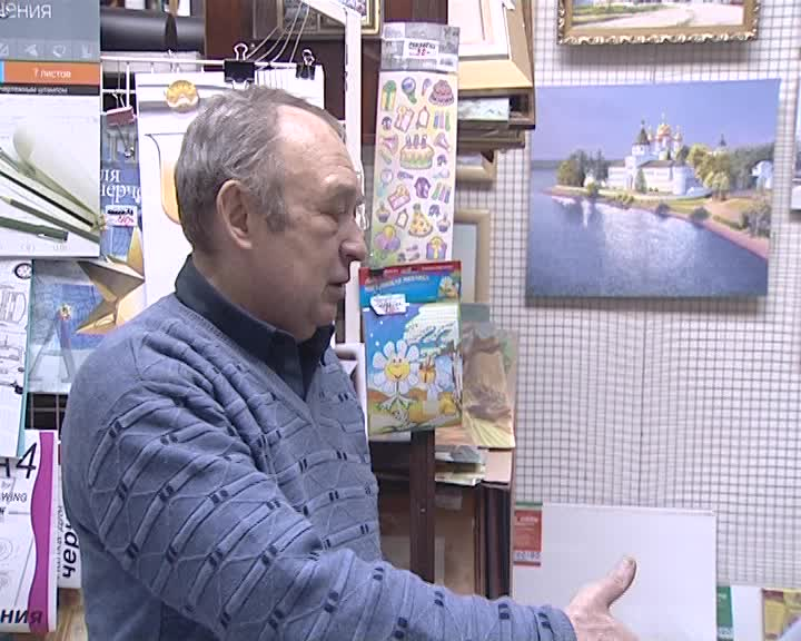 В центре «Искусство» открывается выставка «Храмы Костромы»