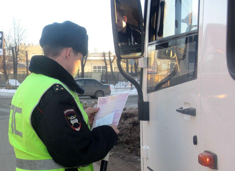 В Костроме прошла проверка пассажирских перевозок