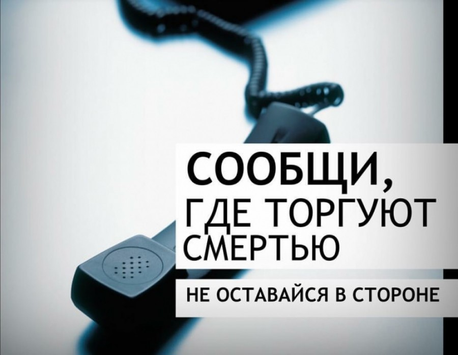 В Костромской области проходит антинаркотическая акция «Сообщи, где торгуют смертью»