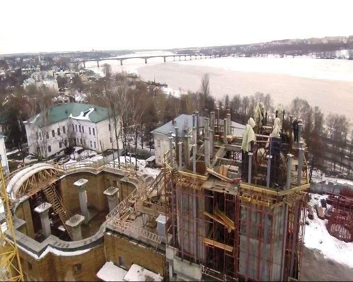На Костромской Кремль установят храмовый крест