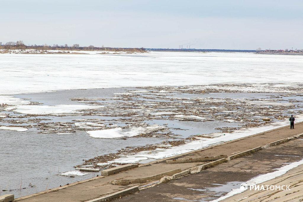 В Костроме начался ледоход