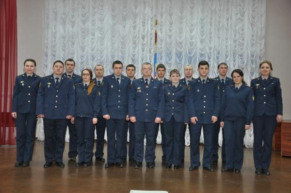 В УФСИН Костромской области прошел конкурс начальников отрядов