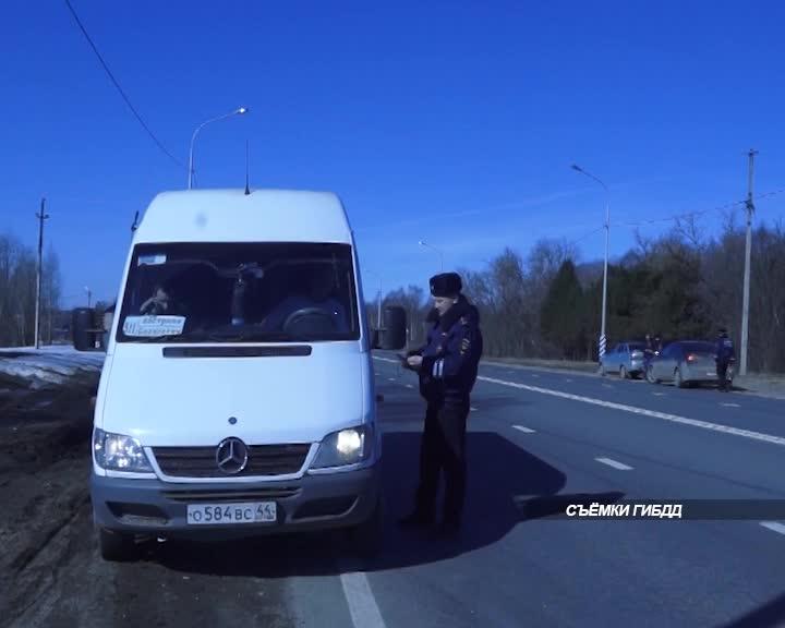 В Костромской области проверили транзитные автомобили