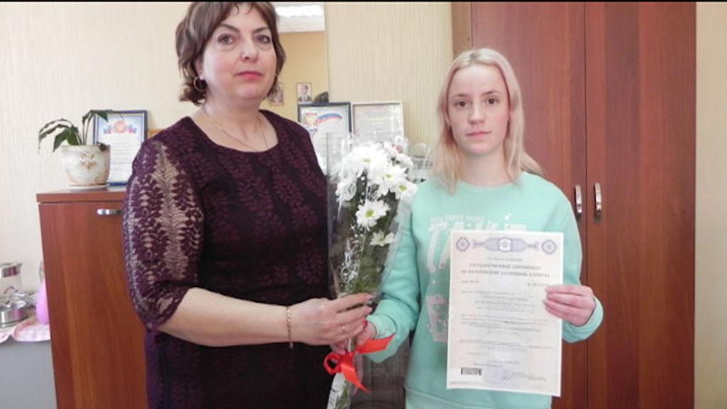 В Вохомском районе Костромской области вручен первый сертификат на материнский капитал