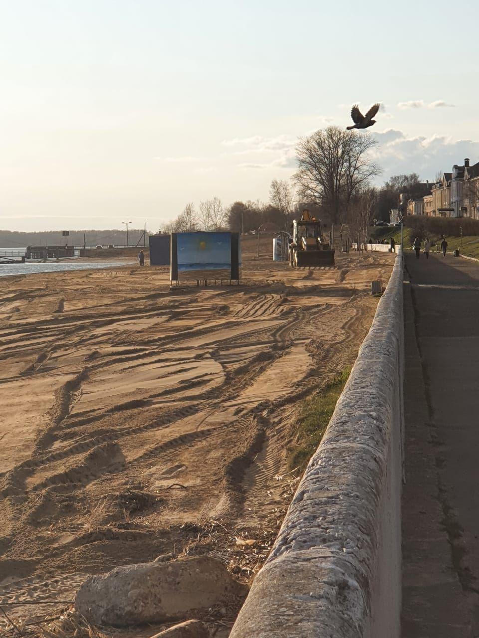 Кострома готовится к пляжному сезону