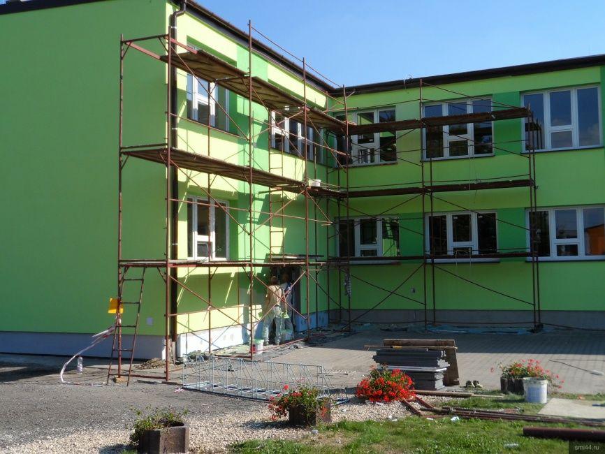 В школах и детских садах Вохомского района идут ремонты