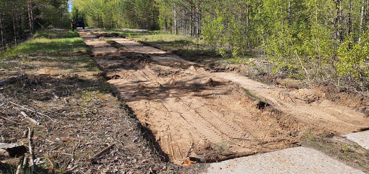 Жители Кузнецовского сельского поселения Костромского района едва не лишились единственной дороги
