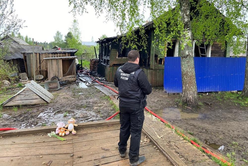 Родителям погибших при пожаре детей в Вохме окажут необходимую помощь