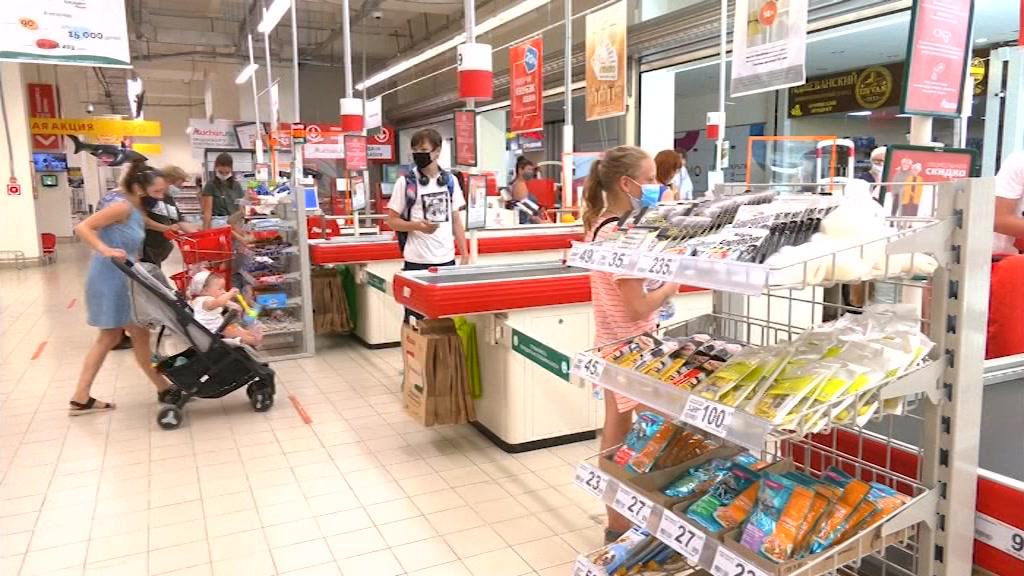 Не все костромичи соблюдают масочный режим в магазинах