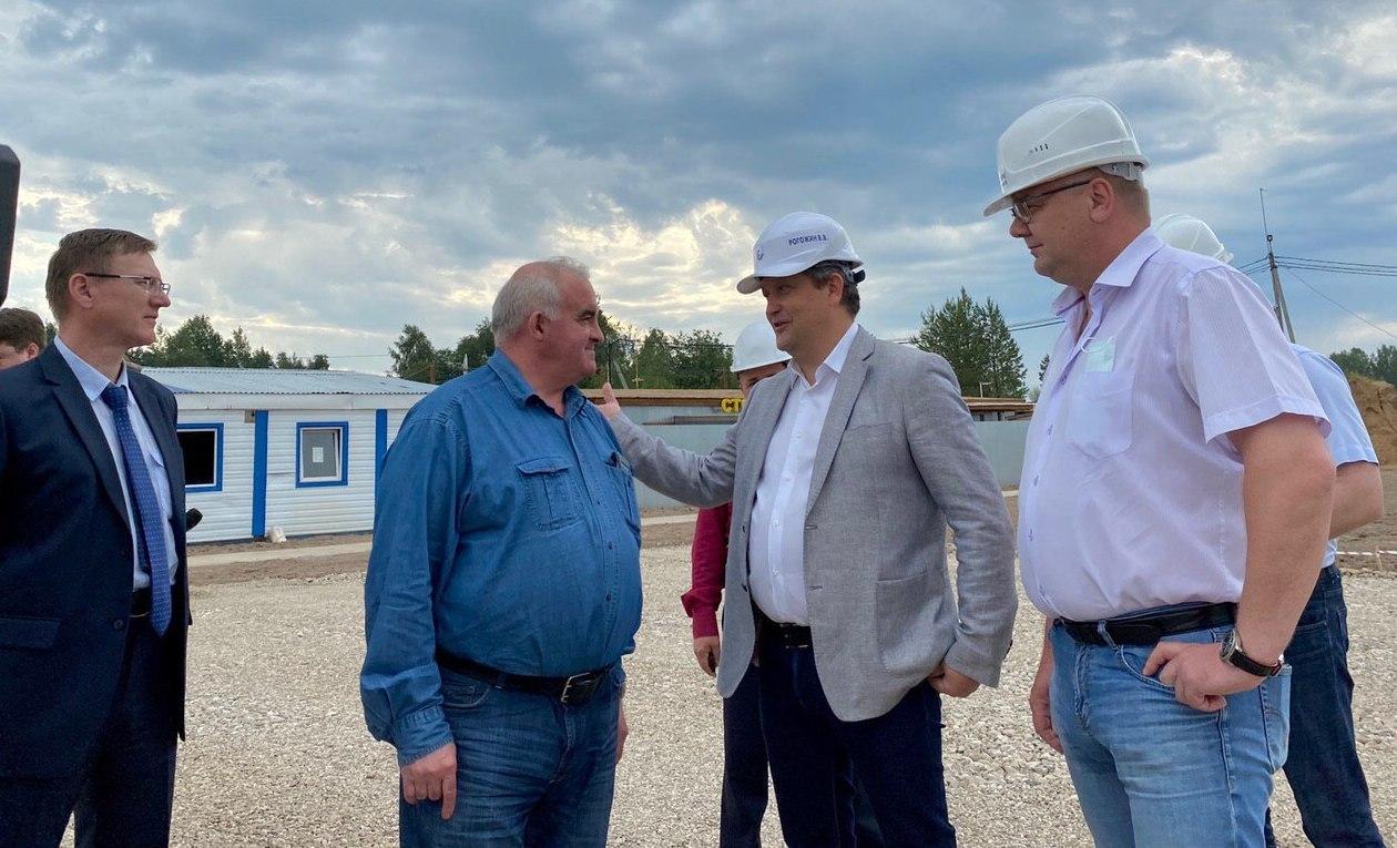 Губернатор  с рабочей поездкой в Антроповском, Парфеньевском и Нейском районах