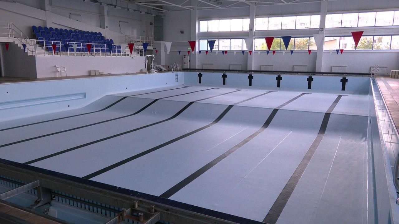 В спорткомплексе «Заволжье» ремонтируют бассейн