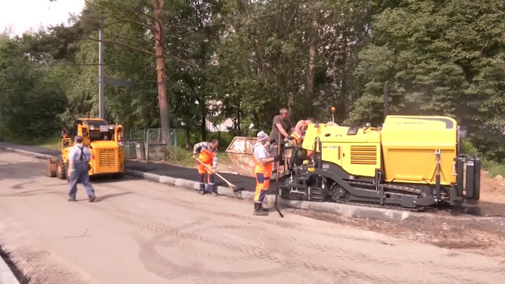 В Костроме ремонтируют подъезды к детским садам