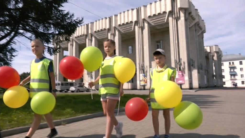 Костромичи отметили День светофора