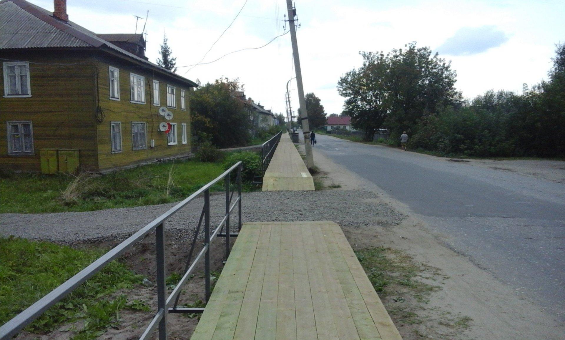 Шарьинцы будут ходить по новым тротуарам