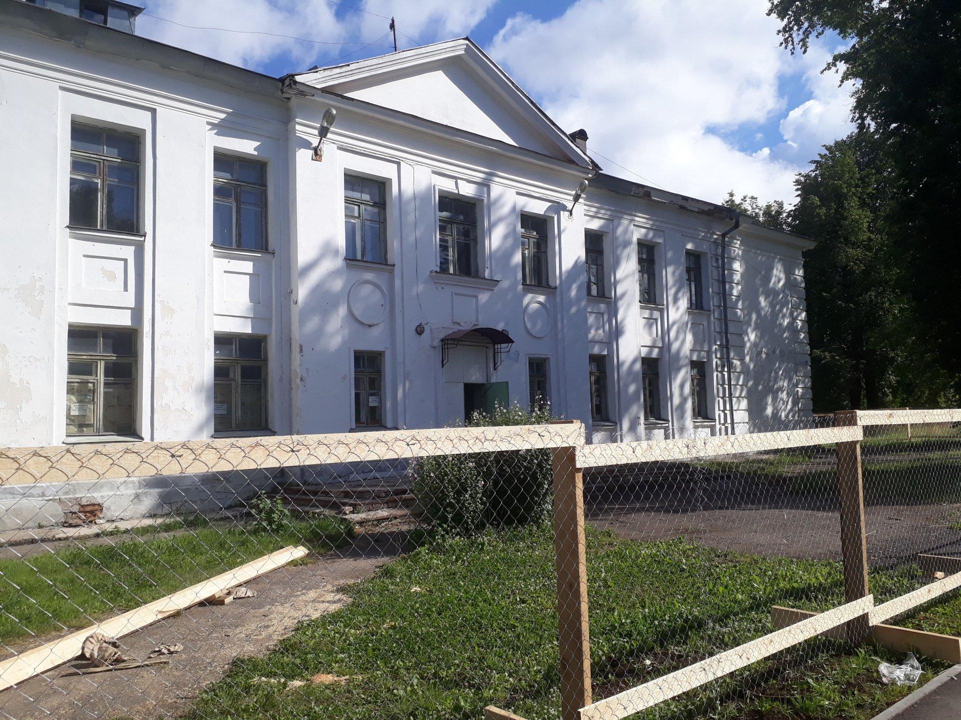 Школа получит новое здание к новому году