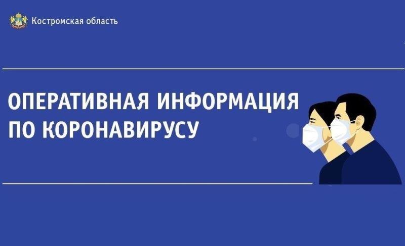 За сутки в Костромской области диагноз COVID-19 поставлен 38 жителям региона.