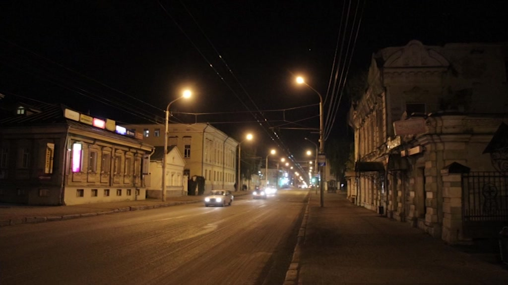 Центральную улицу города приводят в порядок