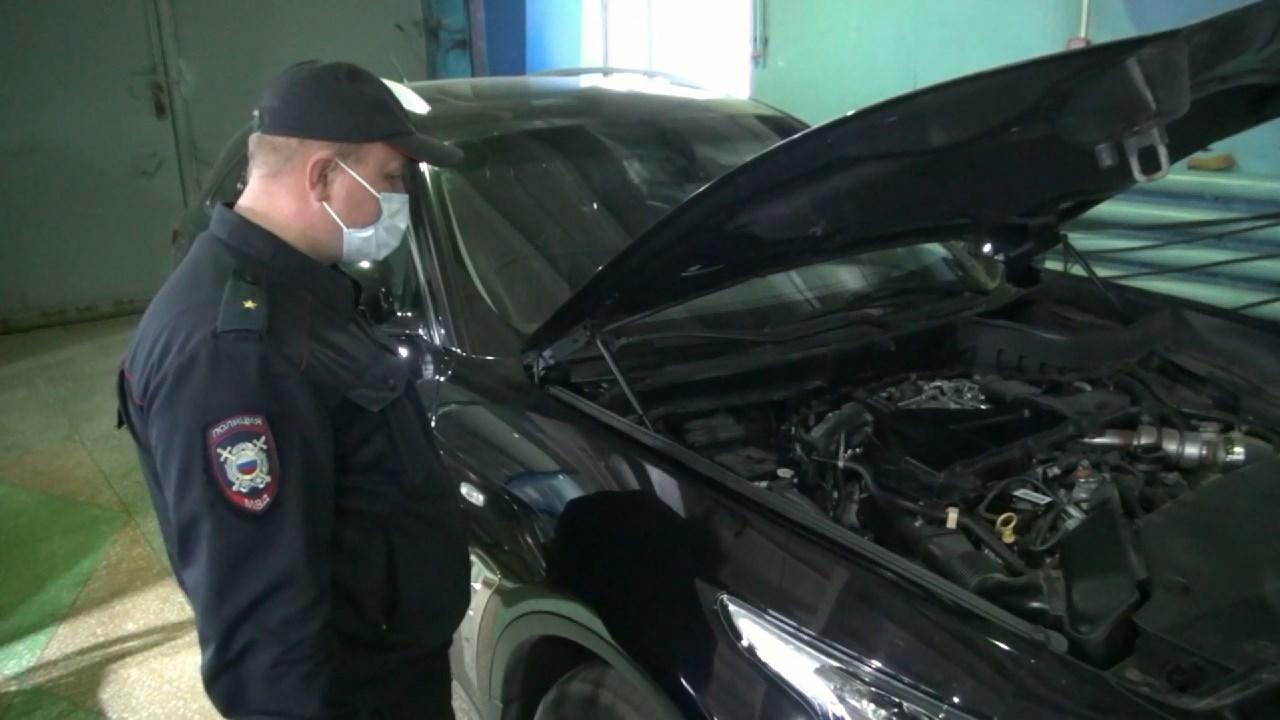 Автомобиль - «двойник» изъяли костромские полицейские