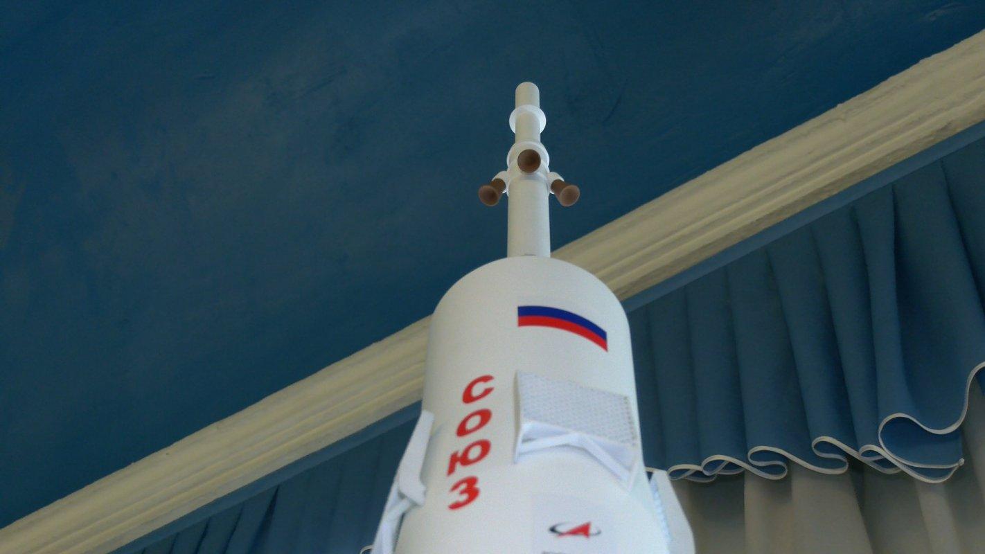 В Кострому доставили ракету «Союз»