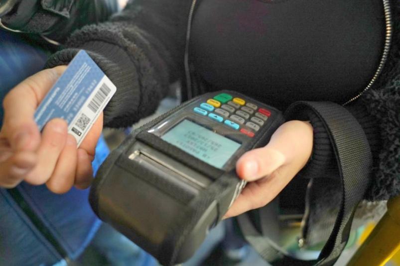 Общественный транспорт Костромы переводят на безналичные платежи