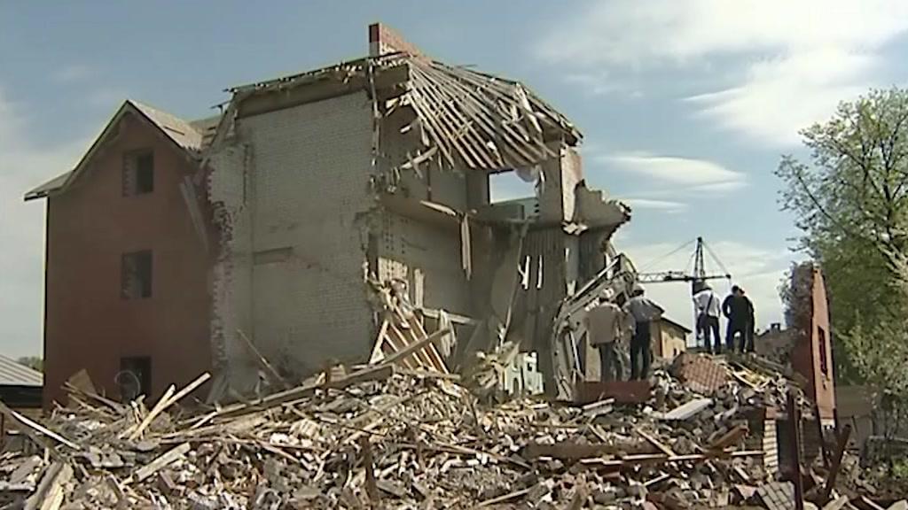 В регионе усилен контроль за сносом заброшенных зданий