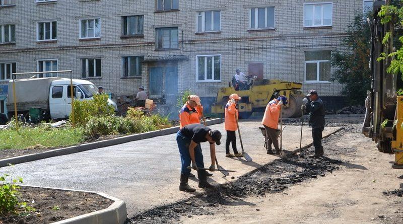 Благоустраивать дворы в следующем году будет костромская компания