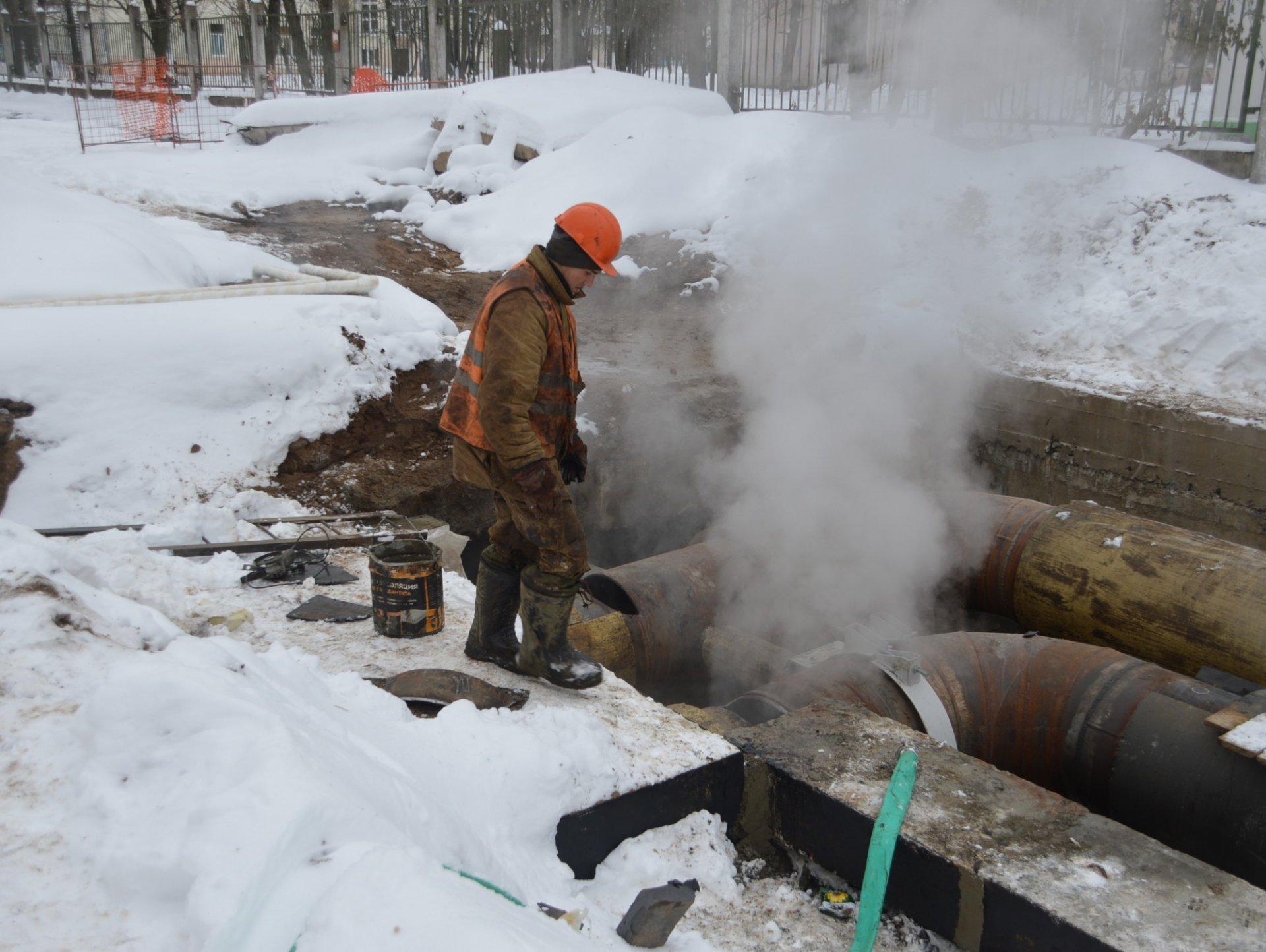 Часть домов Фабричного района отключили от тепла и горячей воды