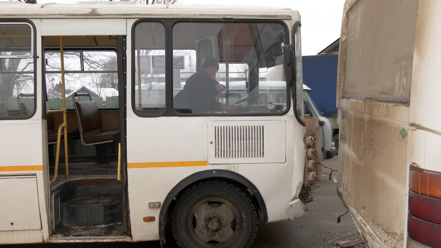 Еще одно происшествие с пассажирским автобусом в Костроме