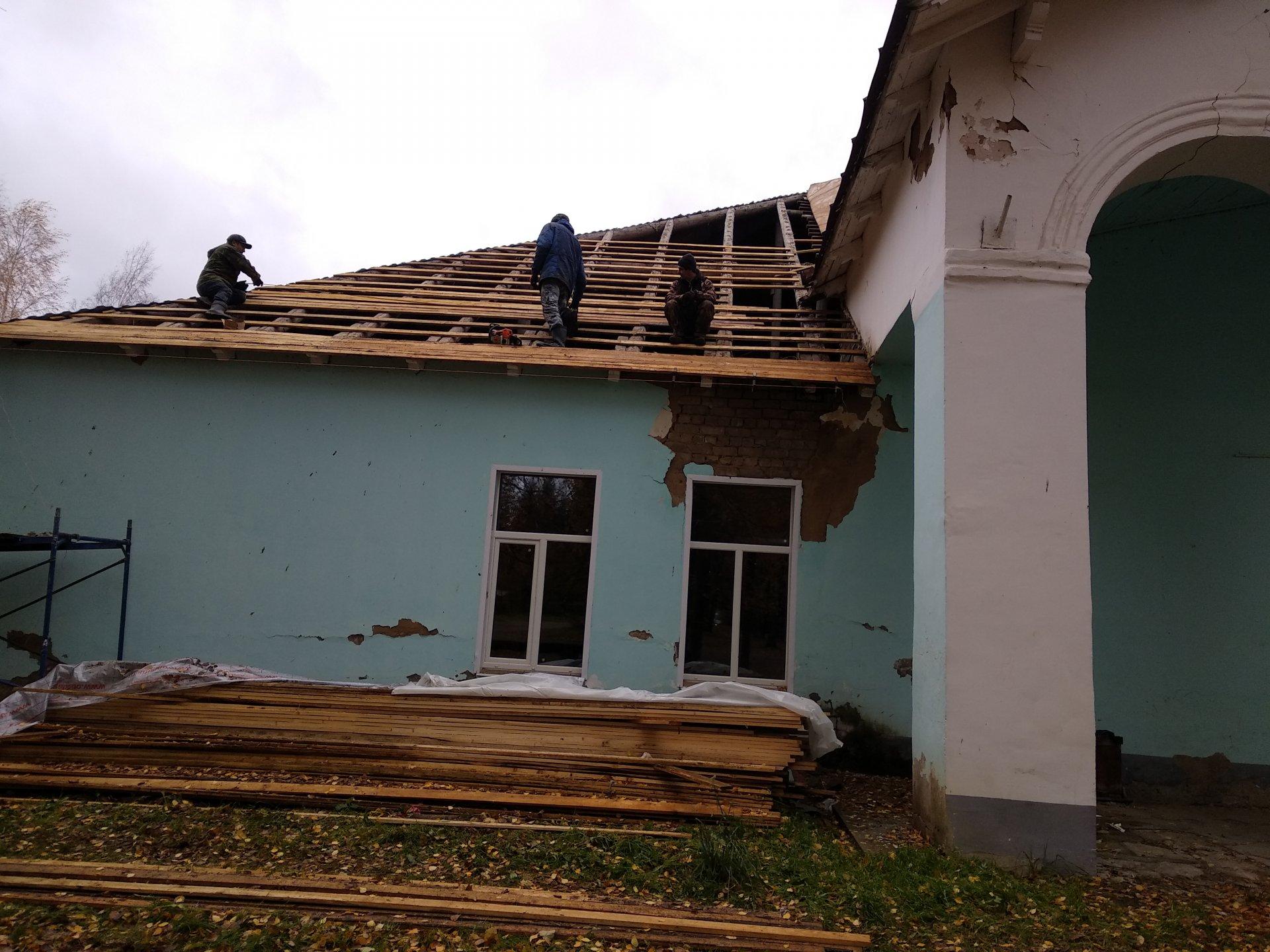 В Шувалово капитально отремонтировали дом культуры