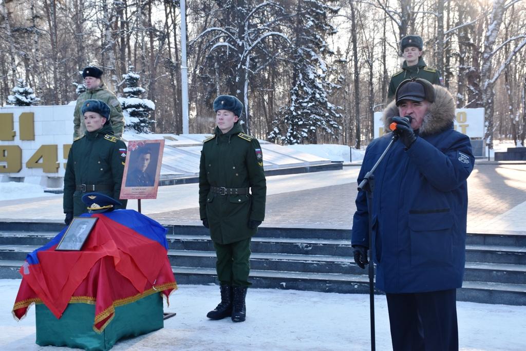 Губернатор Костромской области принял участие в церемонии увековечивания памяти летчика-героя Василия  Герасимова