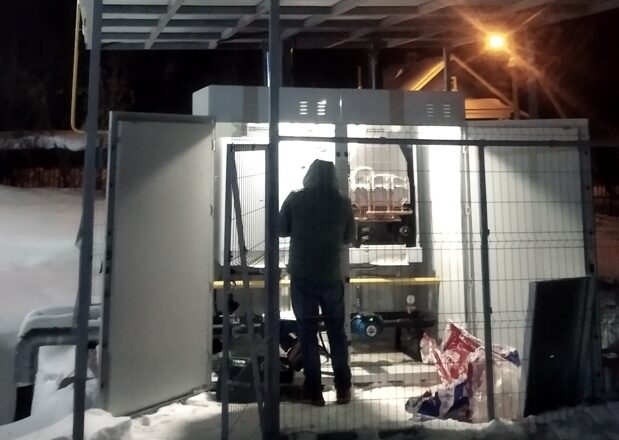 Подольский детский сад  эту зиму отапливали газом