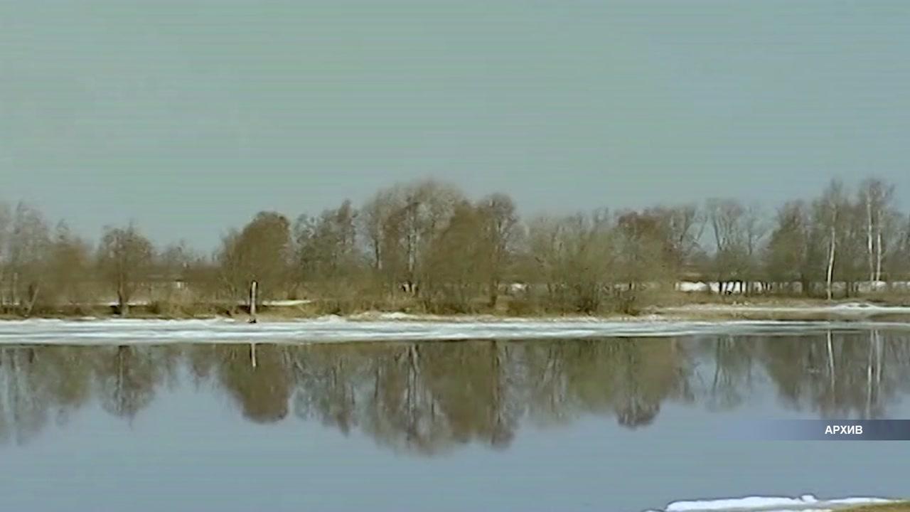 На костромскую область наступает большая вода.