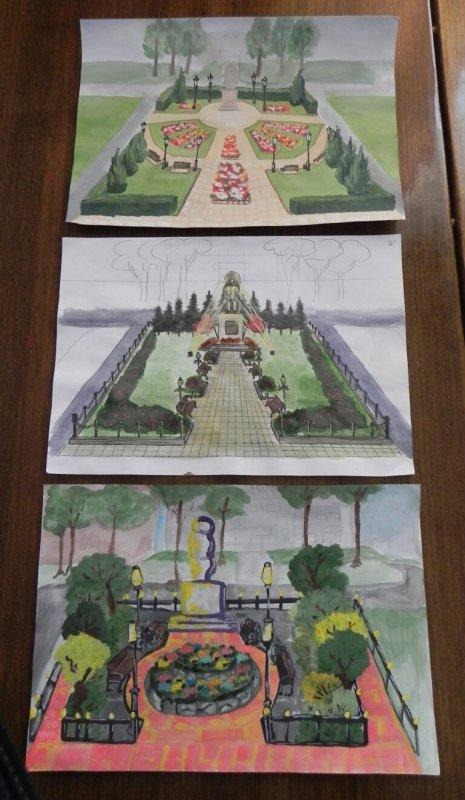 Юные боговаровцы представили свои проекты благоустройства своего села