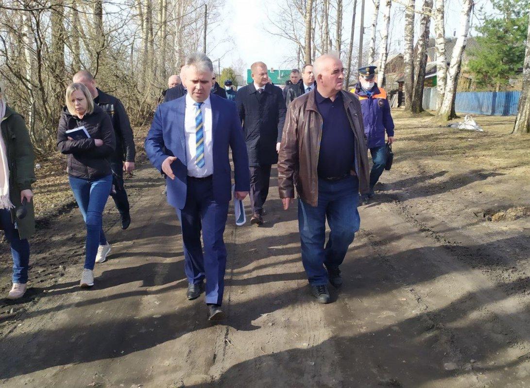 Губернатор Костромской области лично контролирует муниципалитеты в период паводка