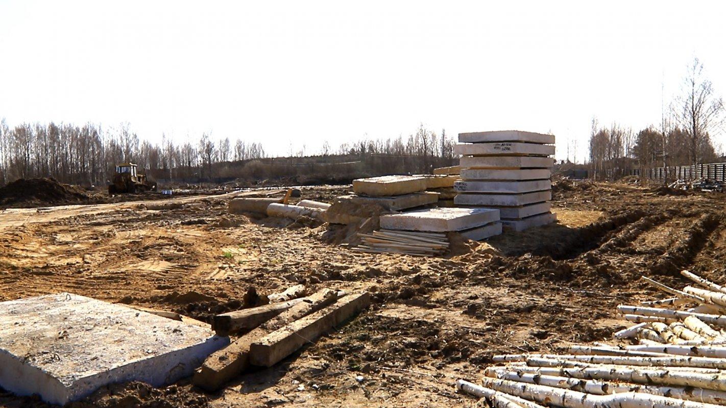 В посёлке Волжский в Костроме началось строительство школы