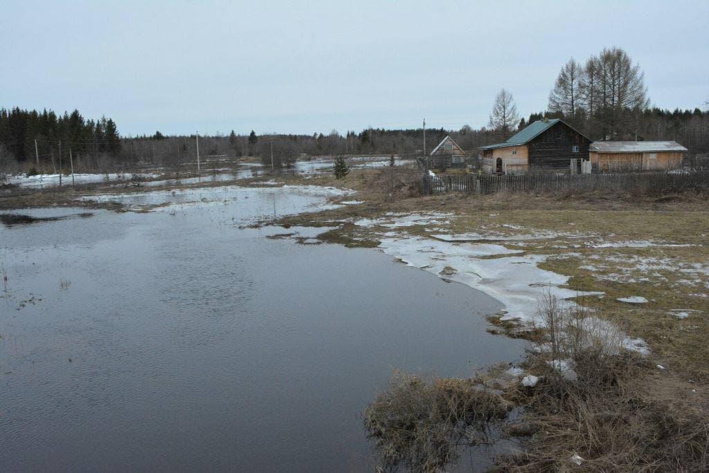 Опасность речных разливов остается по-прежнему высокой