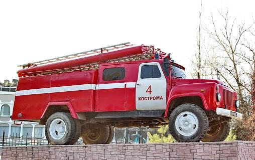 Сегодня на Сусанинской площади Костромы пожарные развернут выставку техники