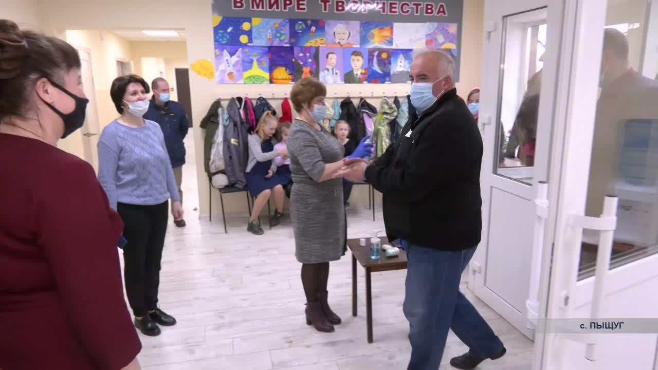 В Пыщуге отремонтировали детскую школу искусств