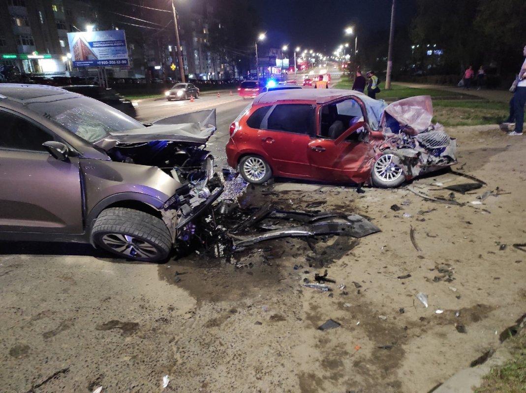Одна авария — семь пострадавших