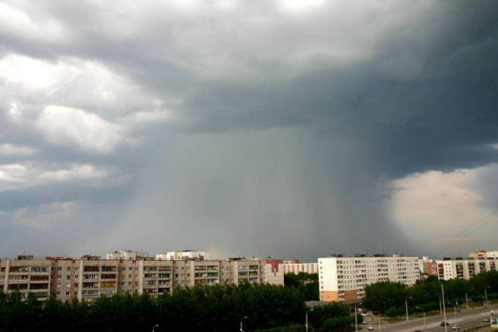 В Костромскую область идут грозы