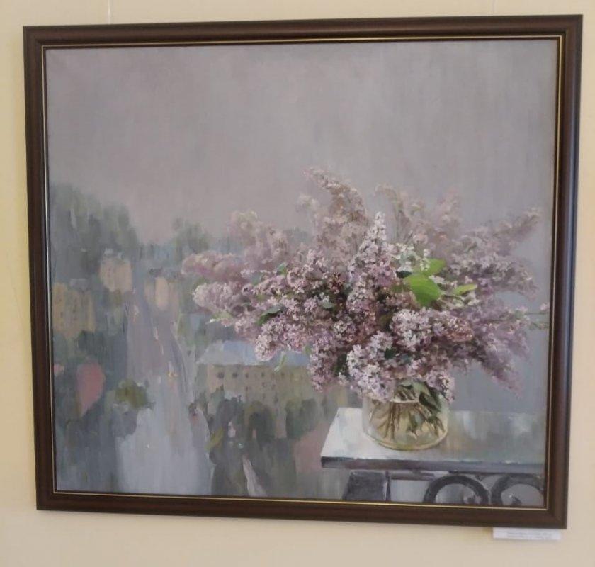 Выставка весеннего настроения открылась в зале Шуваловых