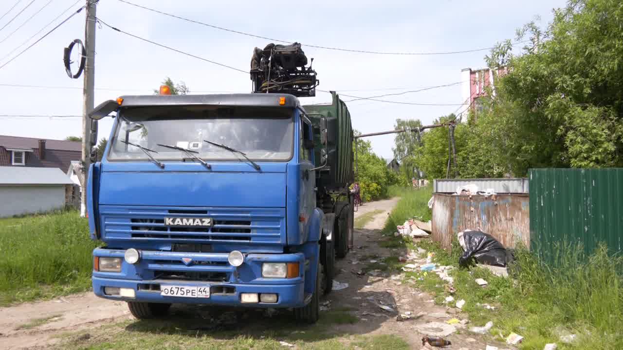 В центре внимания – вывоз мусора