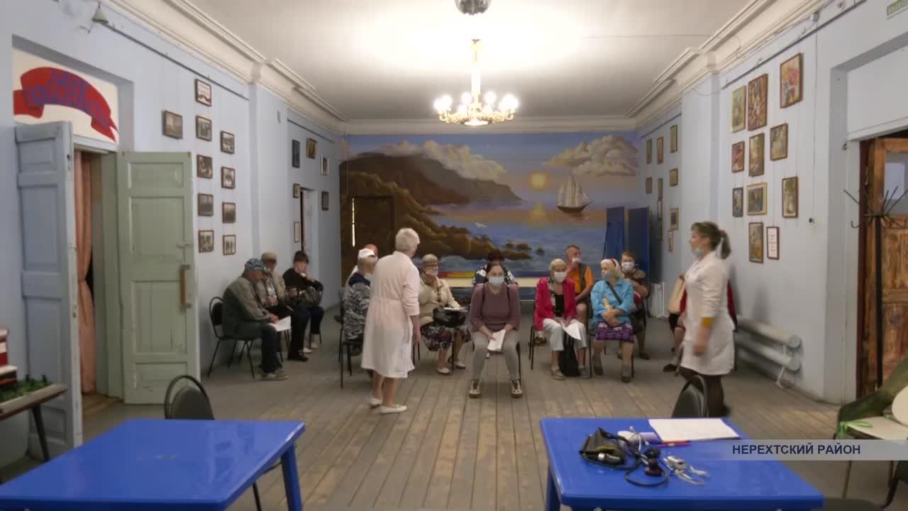 Жители посёлка Космынино Нерехтского района позаботились о своем здоровье