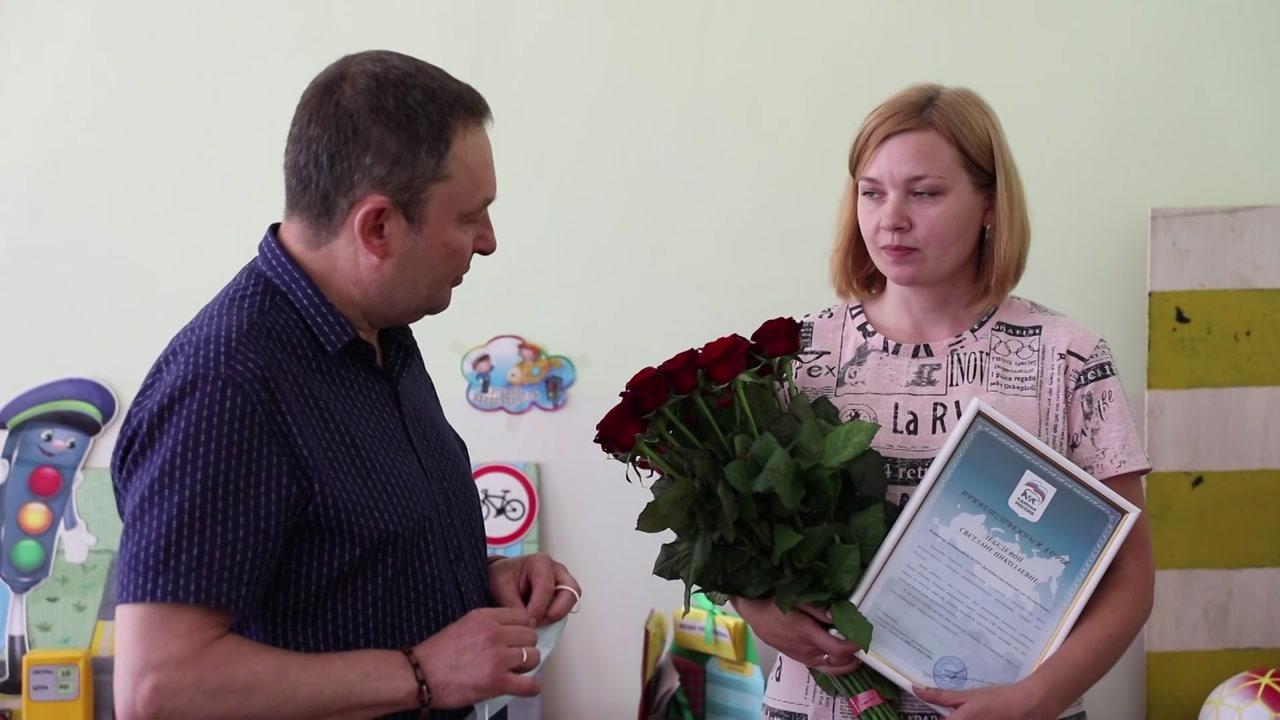 Лучшая няня Костромской области работает в Судиславском районе